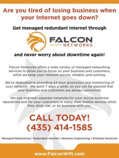 Falcon Networks Facebook Ad